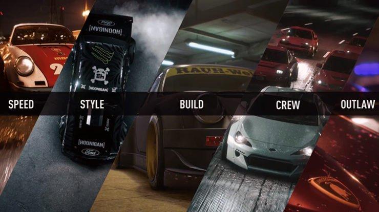 Need for Speed 2015 full car list