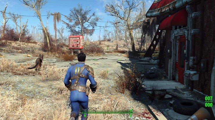Fallout 4 Monsignor Plaza bug
