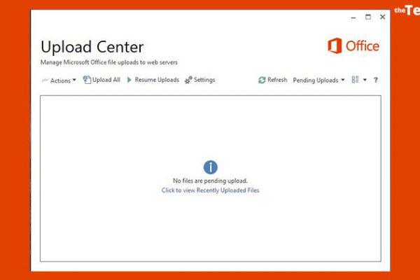 Remove the Microsoft Office Upload Center