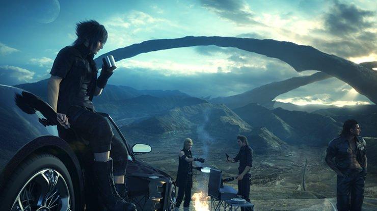 Final Fantasy XV 2016 Launch