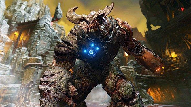 DOOM gameplay screenshots
