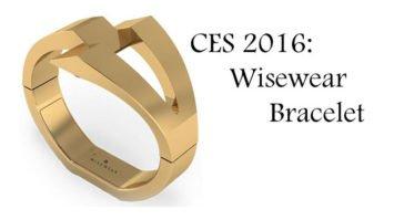 CES 2016: Wisewear Bracelet