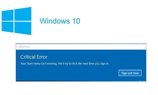 How to Fix Start menu isn't working in Windows 10   TheTech52