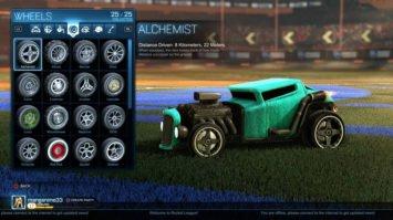 Rocket League Wheels Types