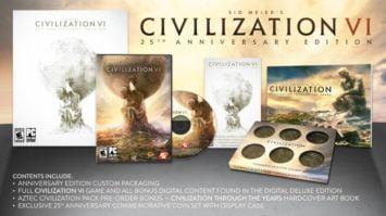 Civilization 6 Anniversary Edition Announced
