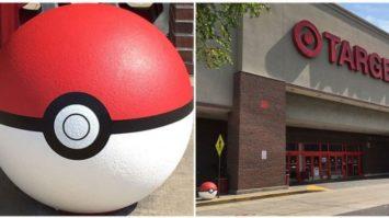 Target Jumps on Pokemon GO: Puts Giant Pokeballs Outside