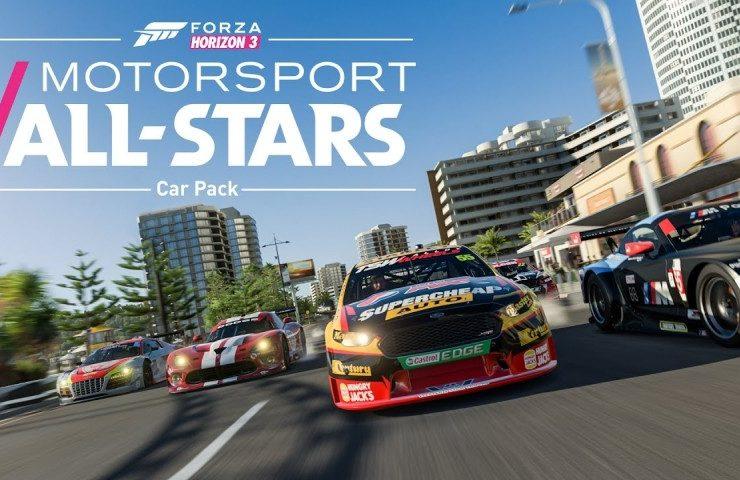 New Forza Horizon 3 Trailer Teases Motorsport All-Stars DLC