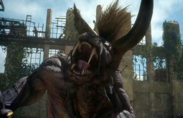 Final Fantasy XV Guide: How to Defeat Behemoth (Deadeye ... Behemoth Final Fantasy 15