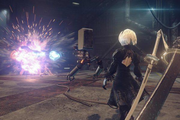 NieR Automata Demo PS4 vs PS4 Pro - Visuals and Performance