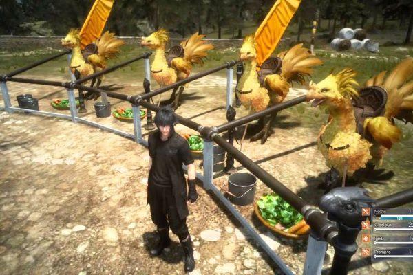 Final Fantasy XV Guide: Chocobo Level Unlocks And Rewards