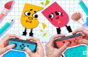 Nintendo Confirms Snipperclips Launching Alongside Nintendo Switch